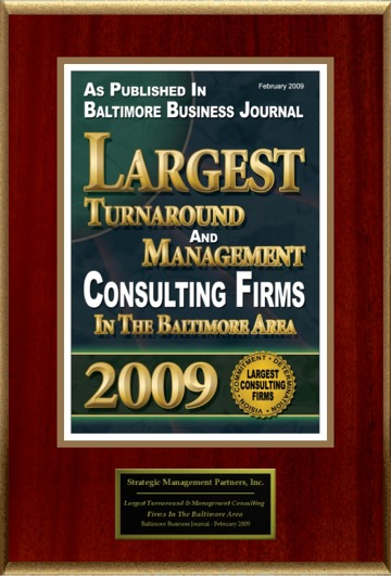 Book of Lists:  Turnaround Management and Consulting Firms in Baltimore Area